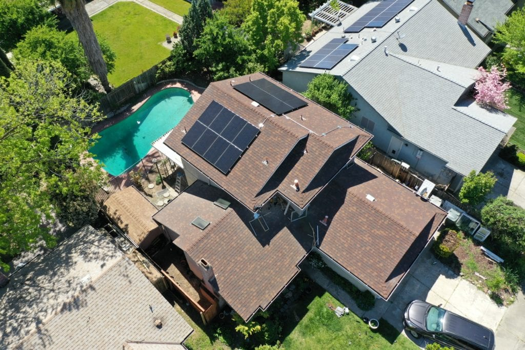 Sacramento Solar Contracting project
