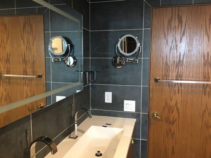 New Cobex Dark Bathroom