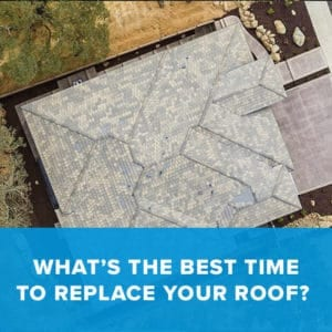 Best time to replace your Roof – Winter!