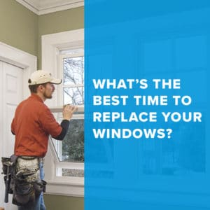 Best time to replace Windows and Doors – Winter!