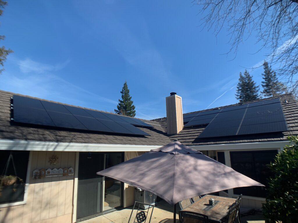 Double Solar Panel