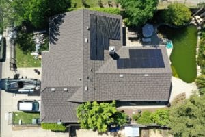 Cobex Construction Group Roseville Roofing Project with Solar.