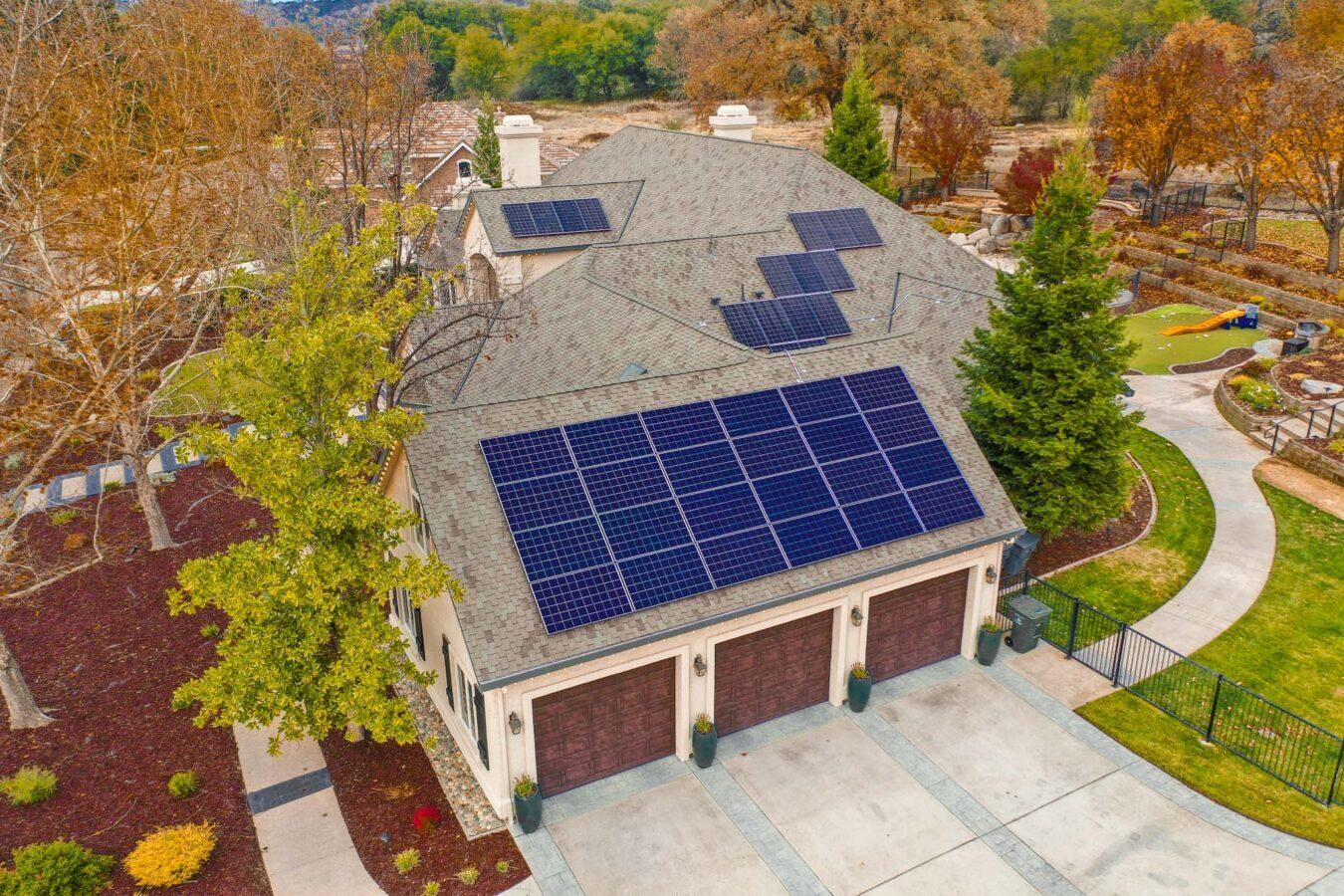Solar Panels On Jorhey's House
